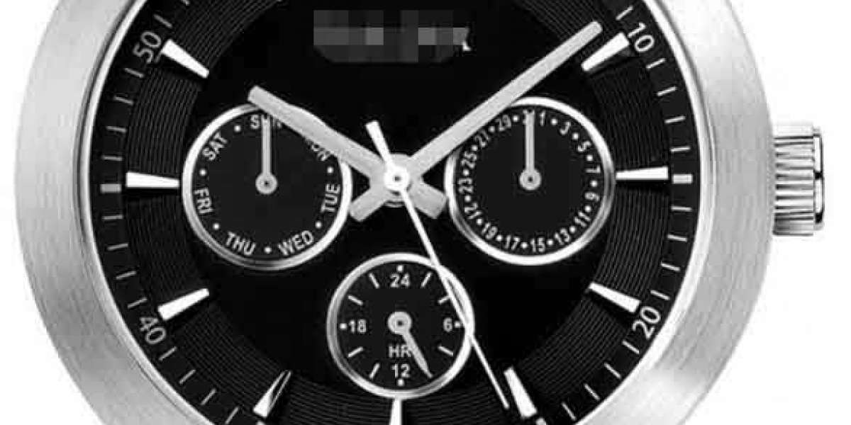 Customize Charming Black Watch Face