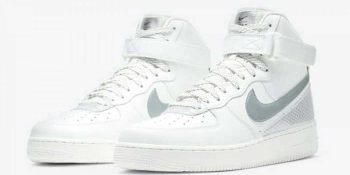 Nike Air Force 1 3M x High White/Black 2020 CU4159-100 For Sale Online