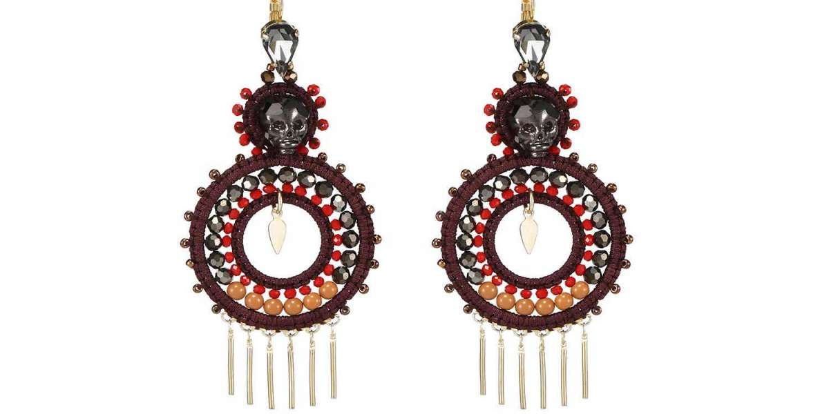 Artisan Handmade Flower Earrings