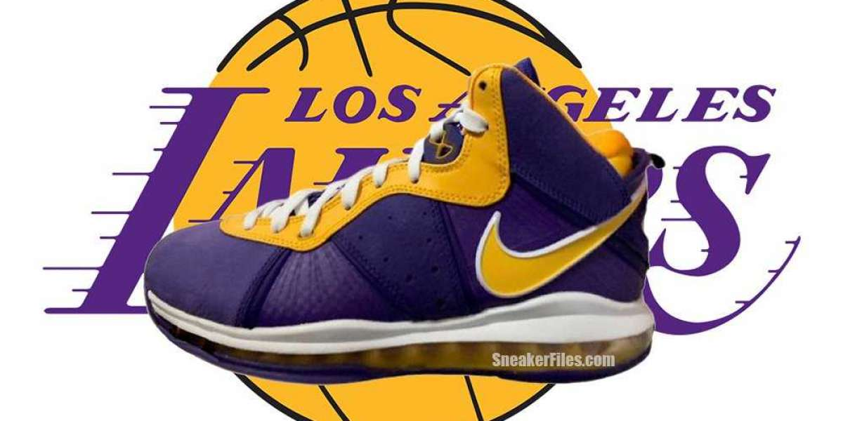 """New Nike LeBron 8 """"Lakers"""" DC8380-500 Coming Back in December 2020"""