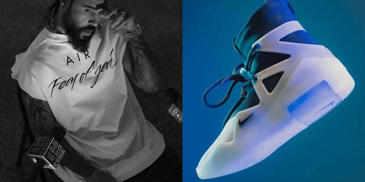"Nike Air Fear of God 1 ""String"" Basketball Shoes AR4237-902"