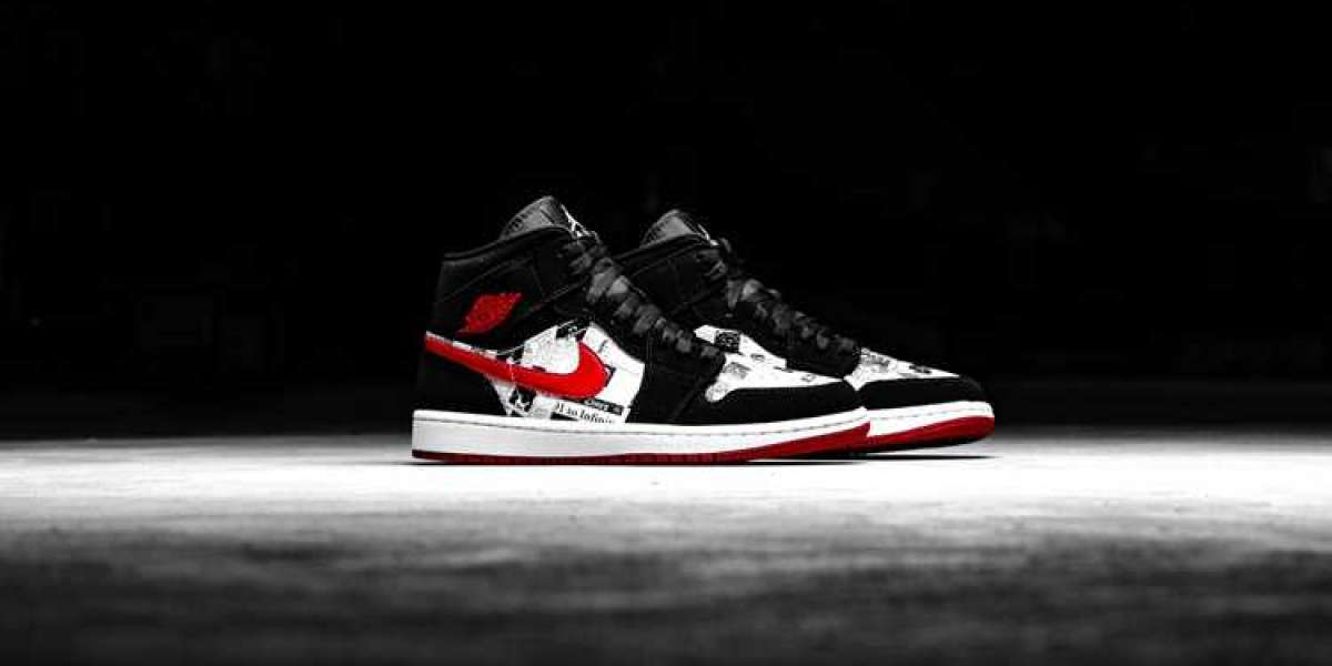 "852542-061 Air Jordan 1 Mid SE ""Air Times"" 2021 Hot Sell"