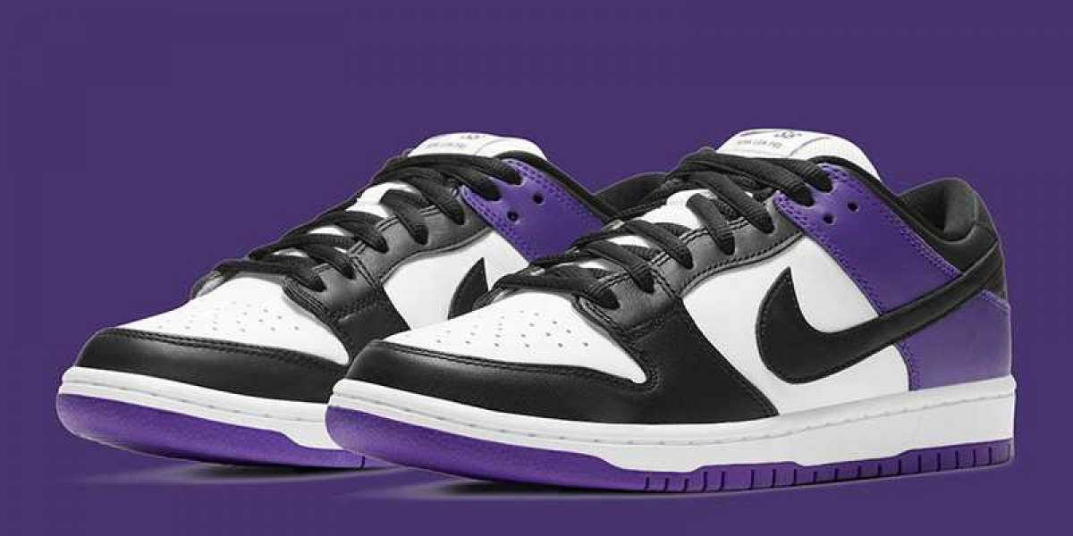 """How do you score this pair of Dunk SB? Nike SB Dunk Low """"Court Purple"""" 2021 New Arrival."""