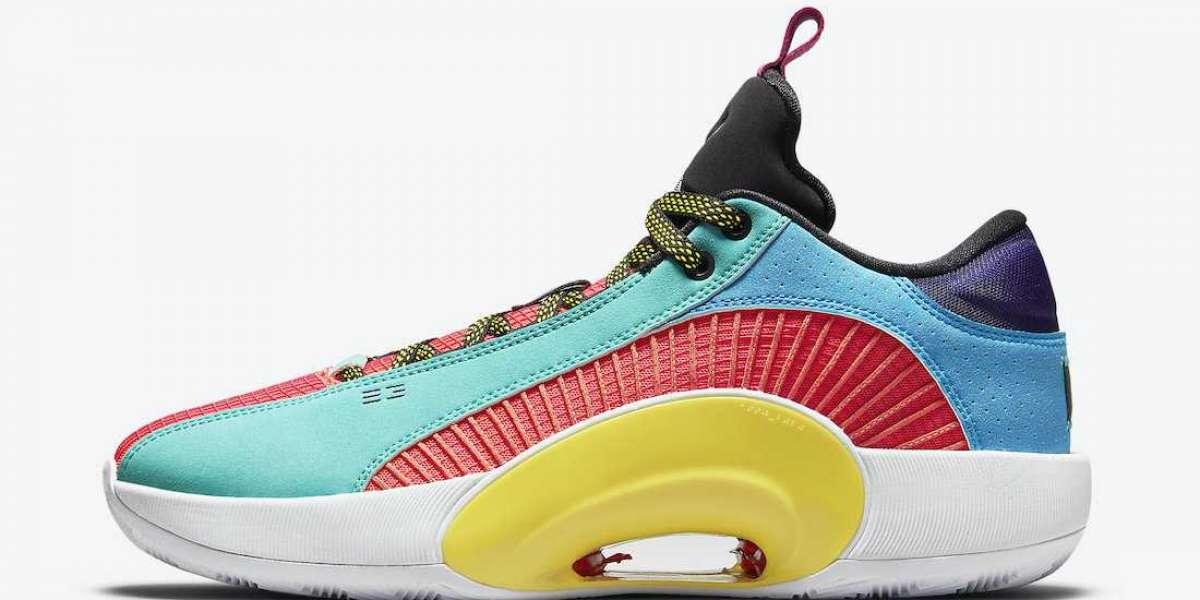 """Air Jordan 35 Low """"Reflexology"""" DJ2831-300 has been released recently!"""