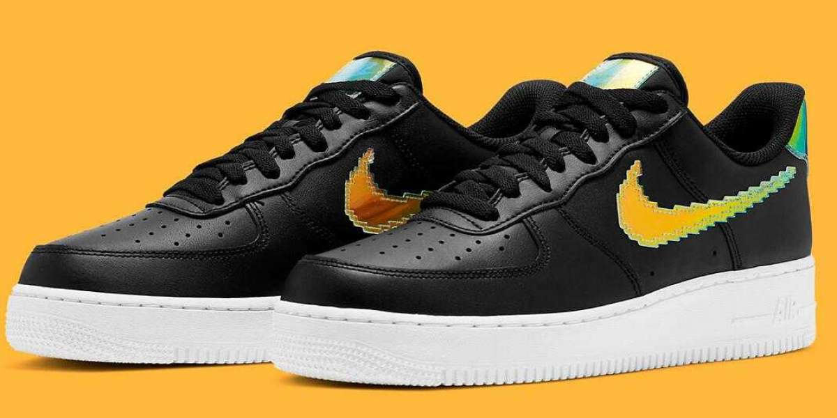 New Stylish Nike Air Force 1 Pixel With Iridescent Finishes for Online Sale