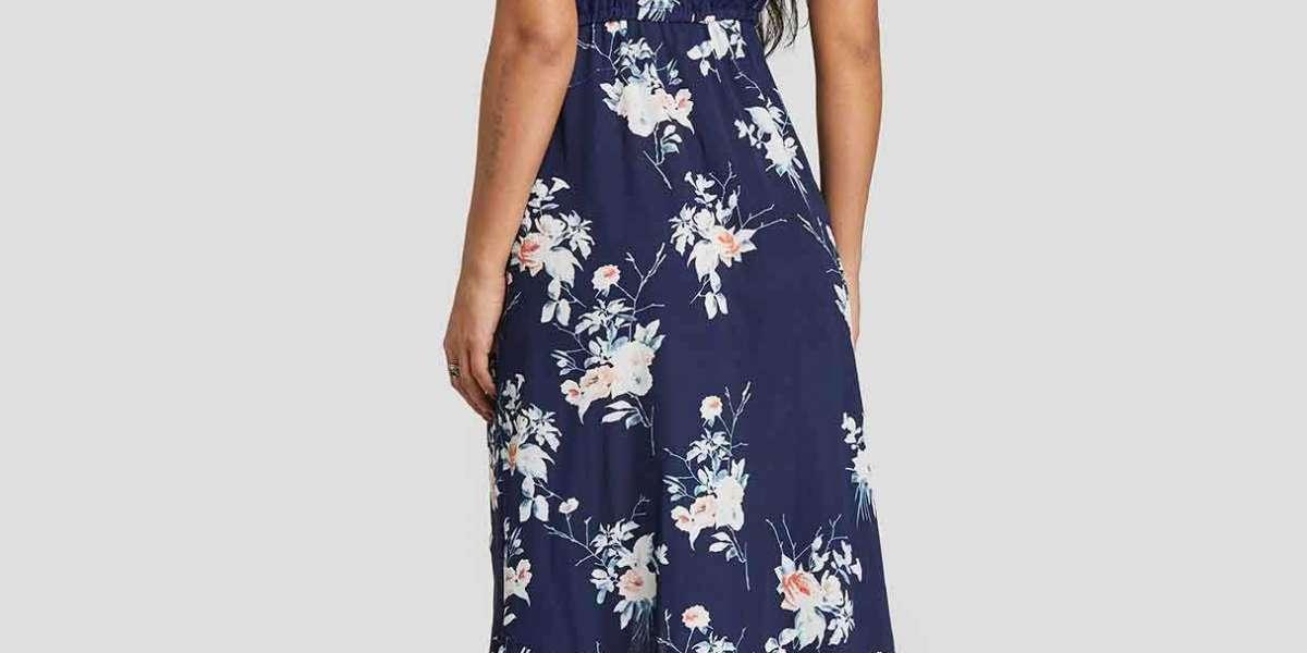 Strapless Plain Self-Tie Sleeveless Yellow Plus Size Dress