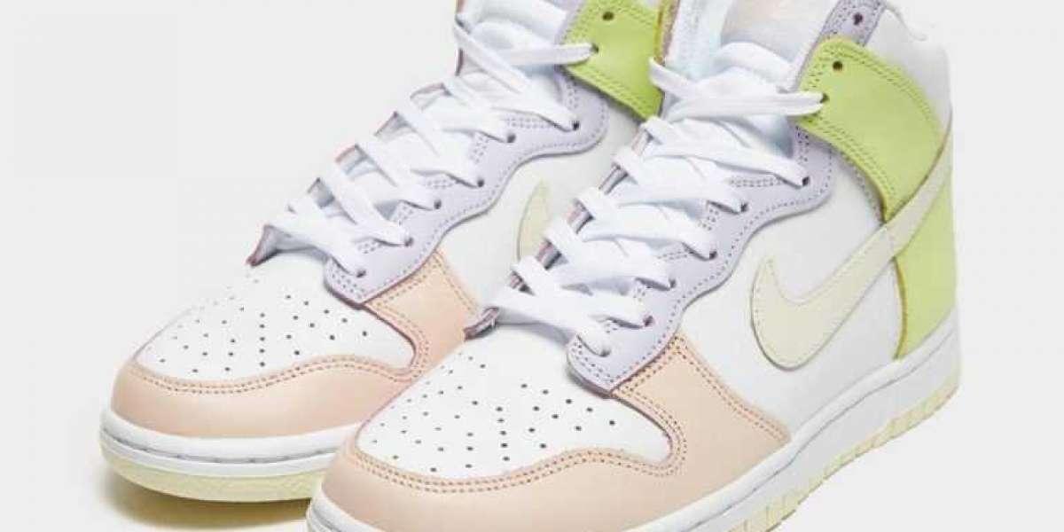 "2021 New Nike Dunk High ""Lemon Twist"" DD1869-108 Do you love it?"
