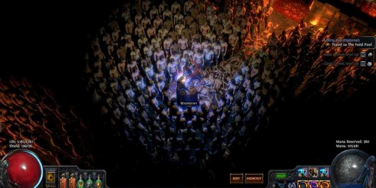 Different paths of character construction in Path of Exile
