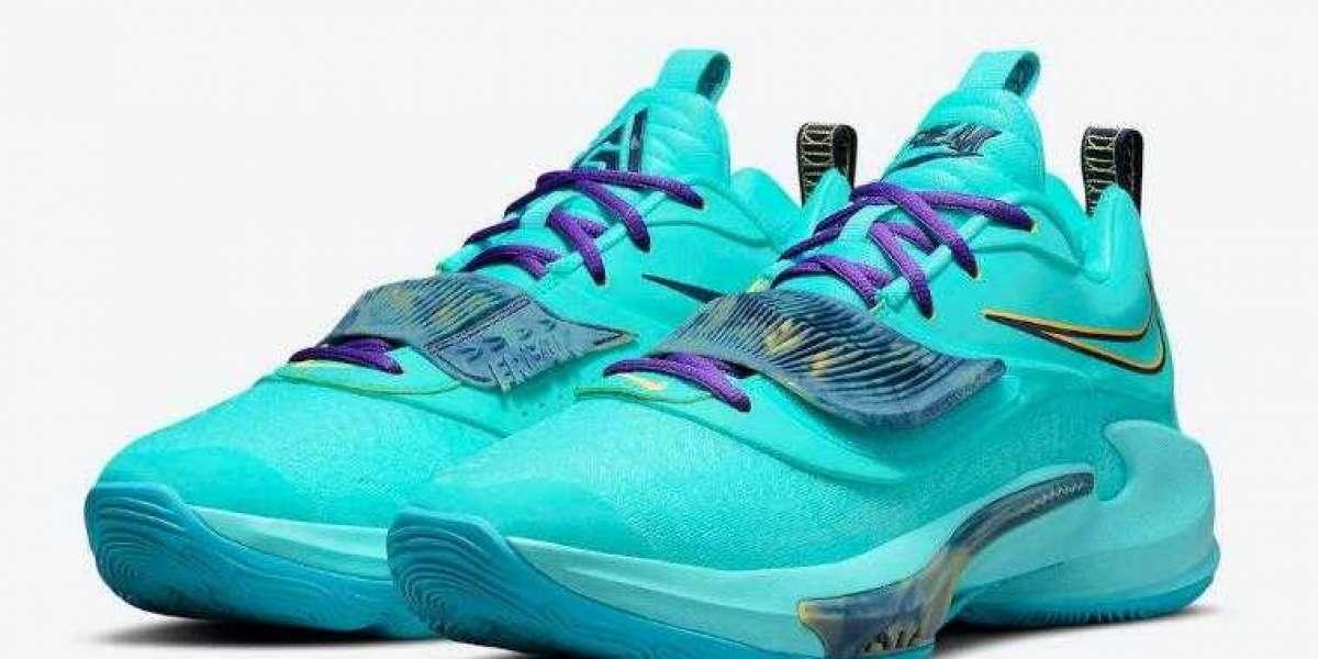 Running Shoes Nike Zoom Freak 3 Dipped in Aqua Drop for Summer
