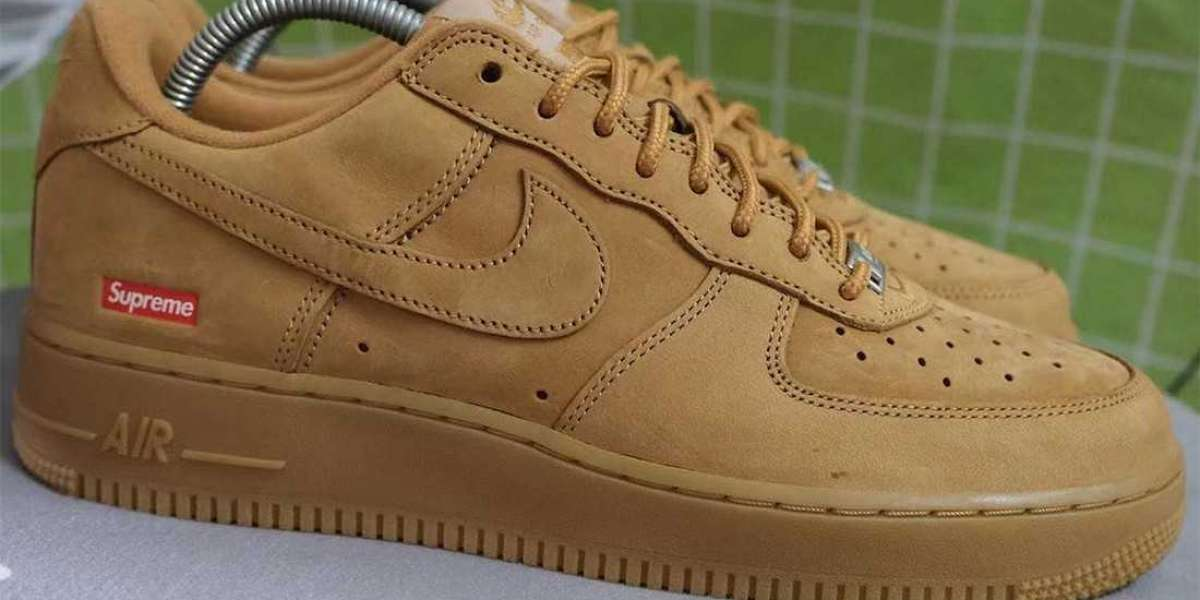Wheat Supreme x AF1 is exposed for the first time! It's coming. .