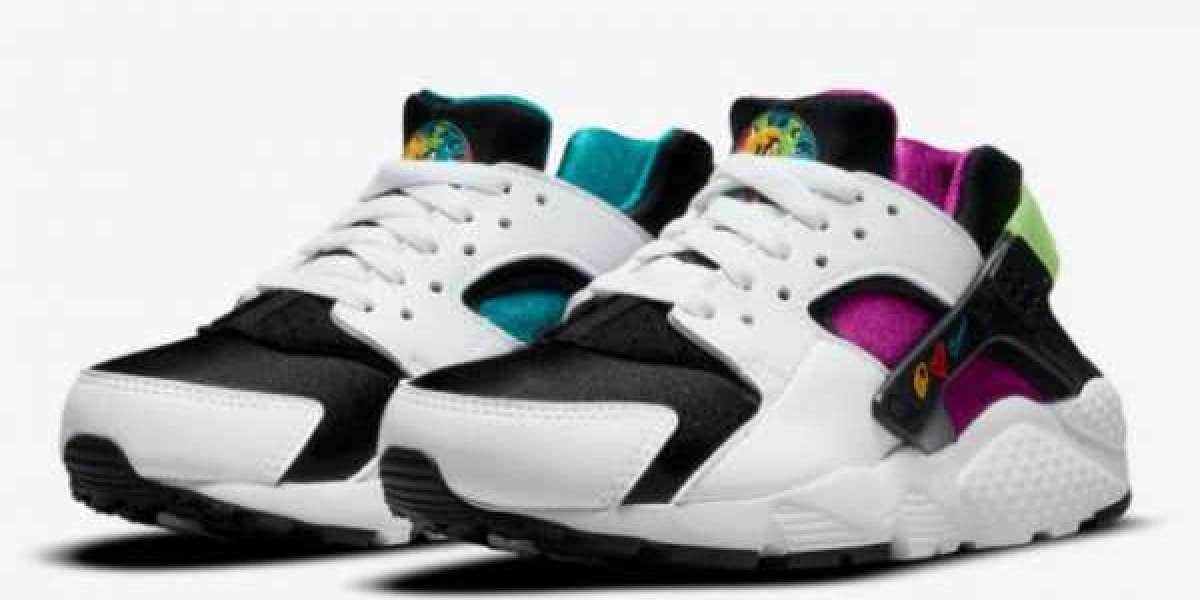 "2021 New Nike Air Huarache GS ""Peace, Love, Swoosh"" DM8156-100"
