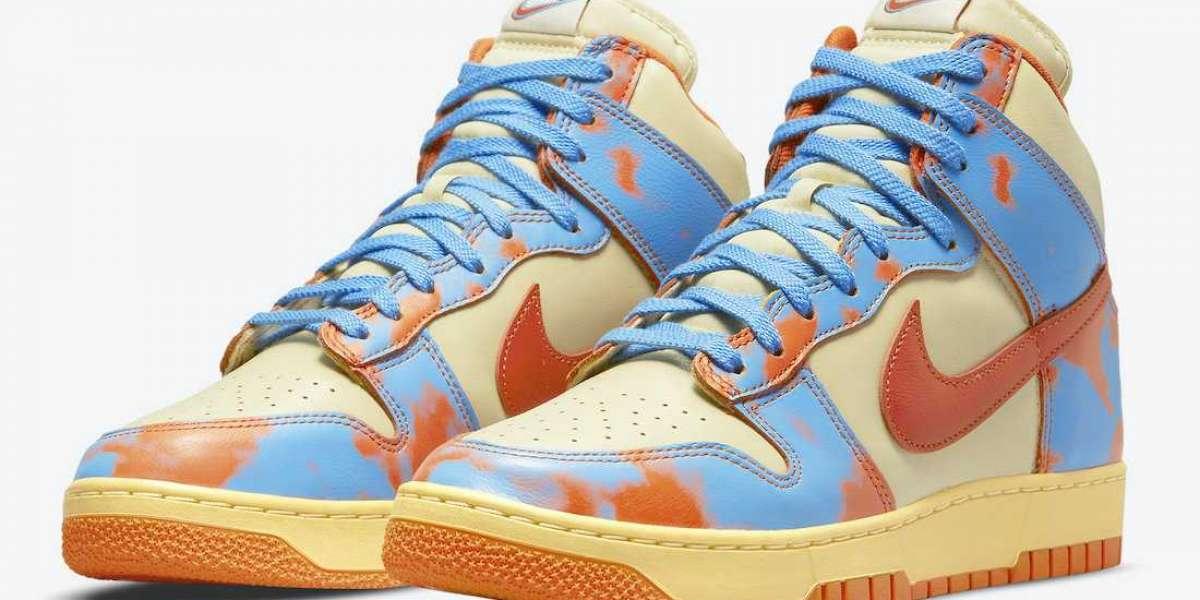 """Latest Release Nike Dunk High """"Acid Wash"""" Sale DD9404-800"""