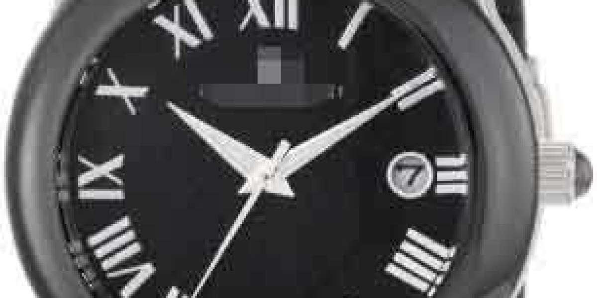 Custom Discount Elegant Black Watch Face K9322104